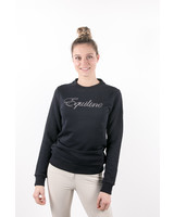 Equiline Women's Sweatshirt Glitter Navy