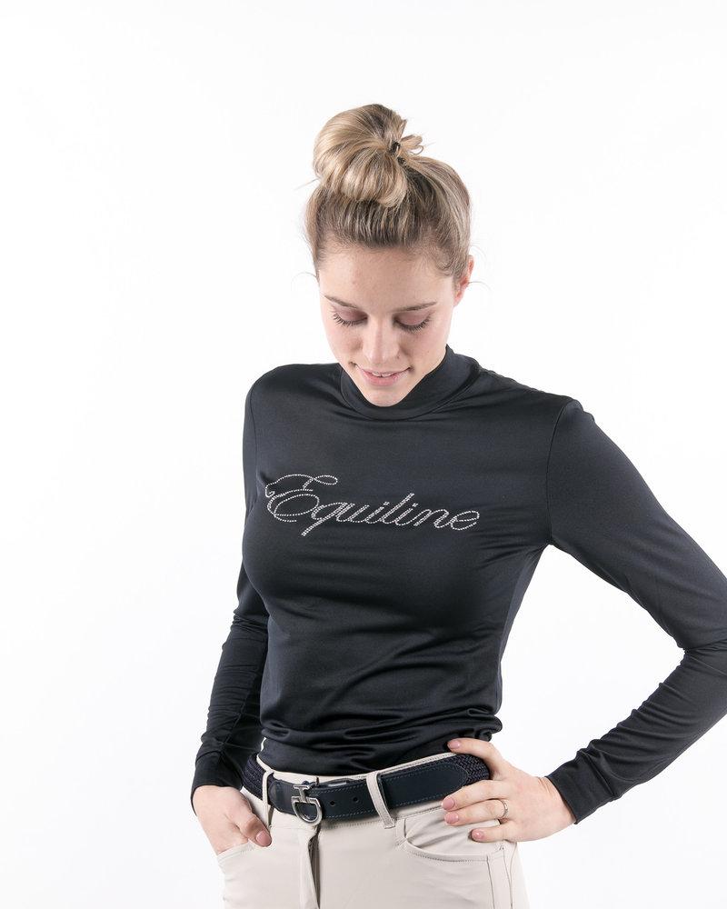 Equiline Equiline Women's Turtleneck L/S Navy