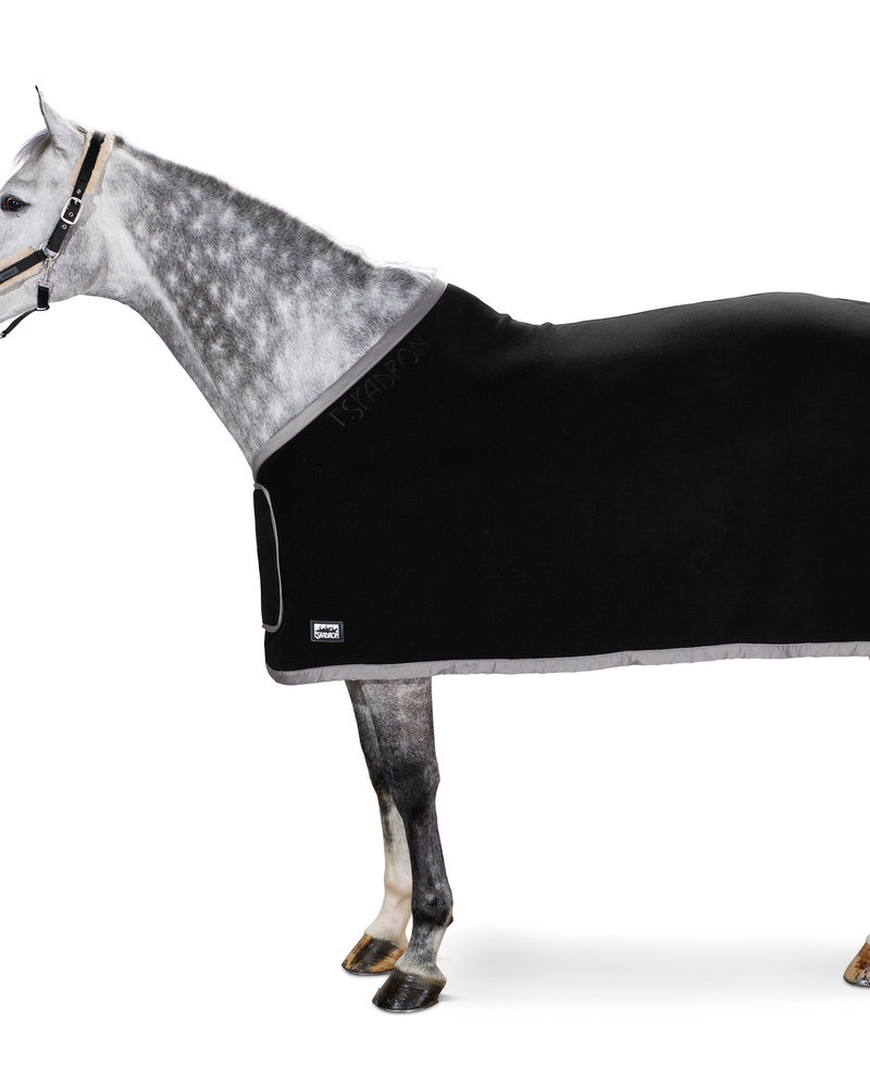 Eskadron Eskadron Fleece Rug Show Black / Gray New-B