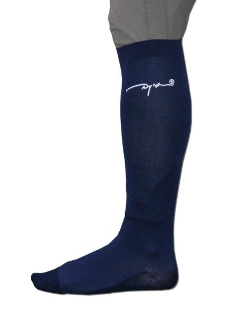 Dy'on Dy'on Logo Socks Navy