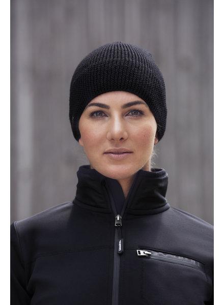 Eskadron Knit Cap Women Sparkle Black