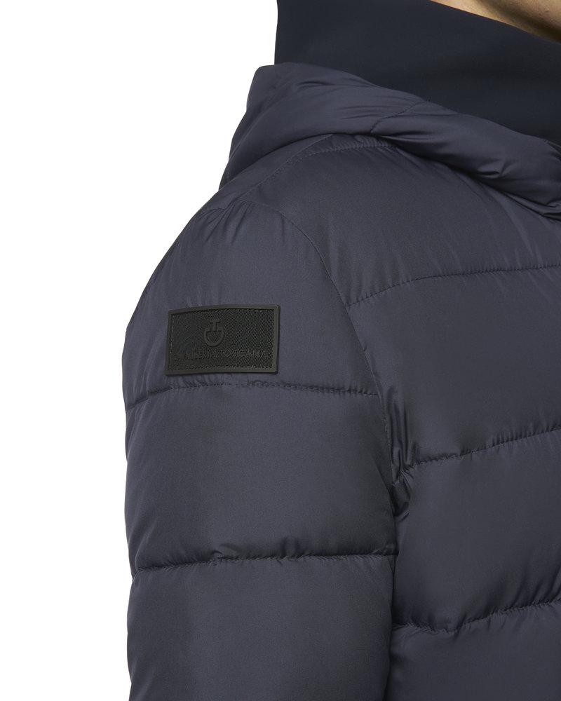 Cavalleria Toscana Cavalleria Toscana Quilted Nylon Hooded Puffer Fleece 7901