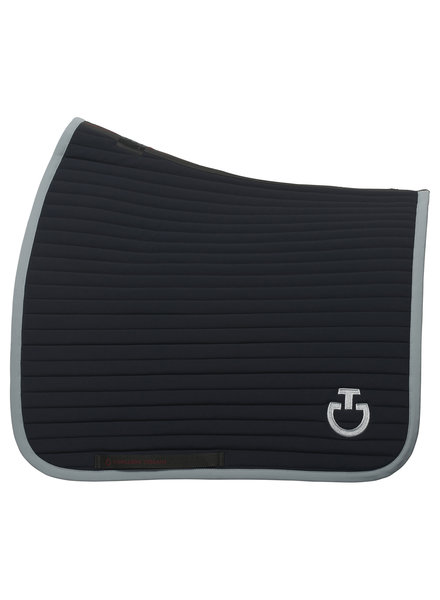 Cavalleria Toscana Quilted Row Jersey Dressage Saddle Pad 7980
