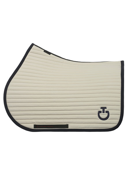 Cavalleria Toscana Quilted Row Jersey Jumping Saddle Pad 1079
