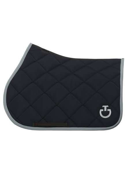 Cavalleria Toscana Jersey Quilted Rhombi Jumping Saddle Pad 7980