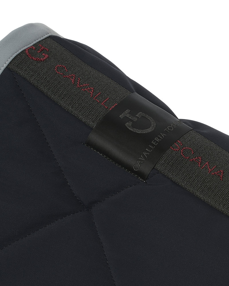 Cavalleria Toscana CT Jersey Quilted Rhombi Jumping Saddle Pad 7980