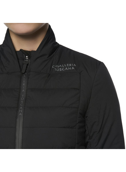 Cavalleria Toscana P&P Quilted Puffer Jacket Black