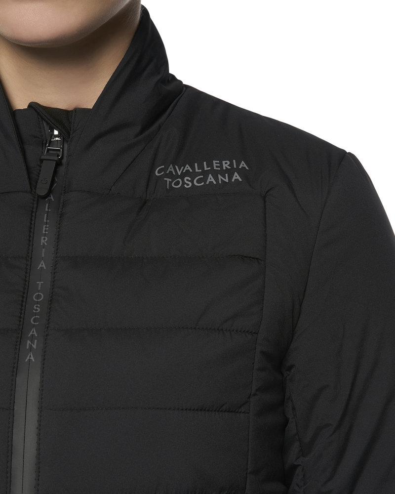 Cavalleria Toscana CT P&P Quilted Puffer Jacket Black