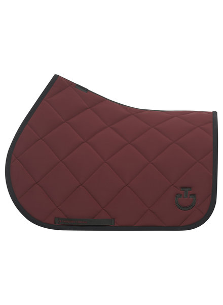 Cavalleria Toscana Jersey Quilted Rhombi Jumping Saddle Pad 3799