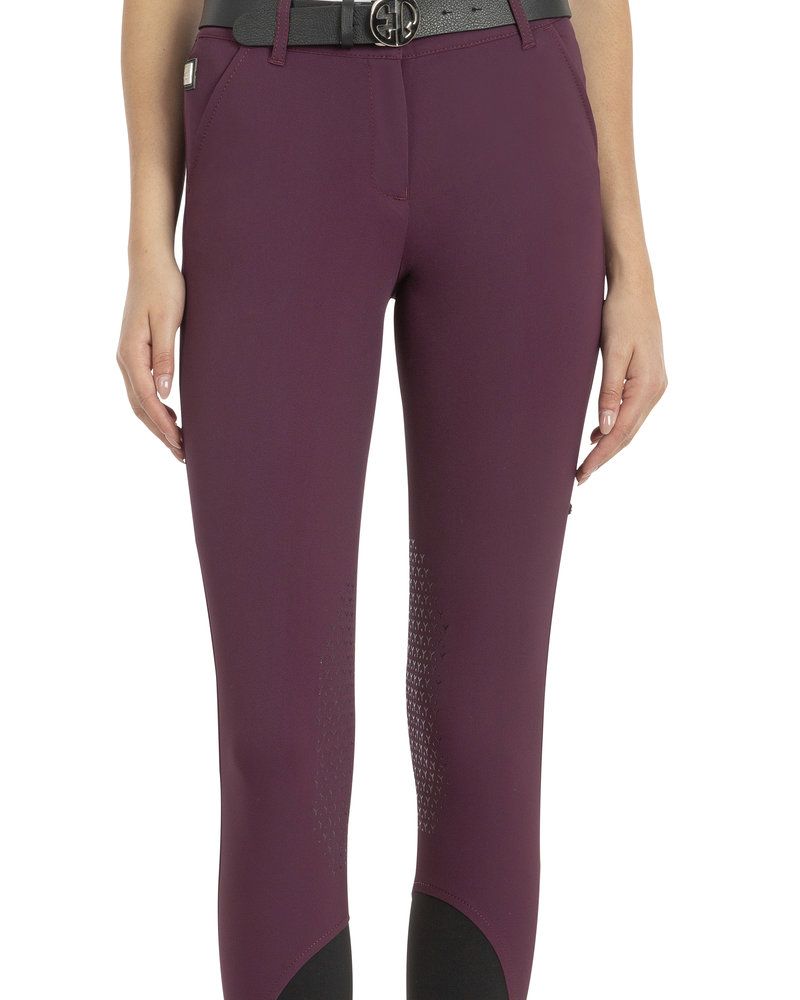 Equiline Equiline Women's Knee Grip Breeches Ebbae Plum