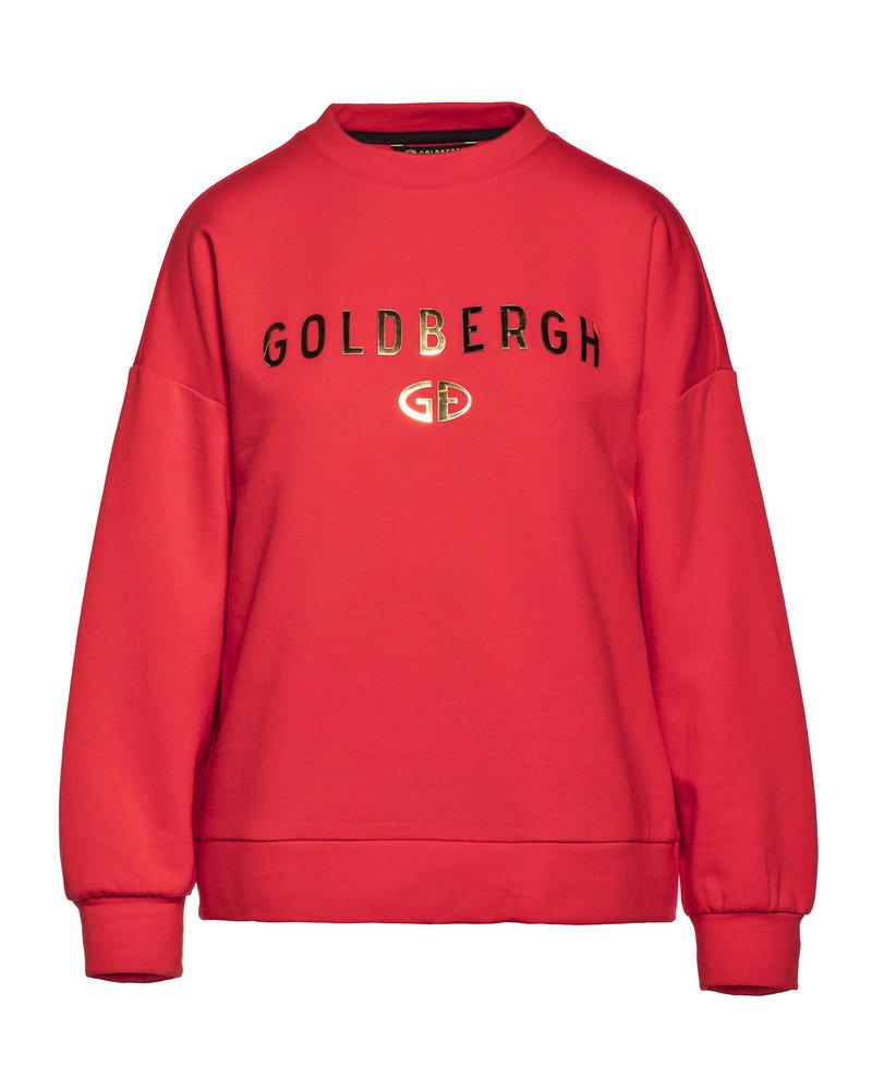 Goldbergh Goldbergh Flavy Longsleeve Knitted Top Flame