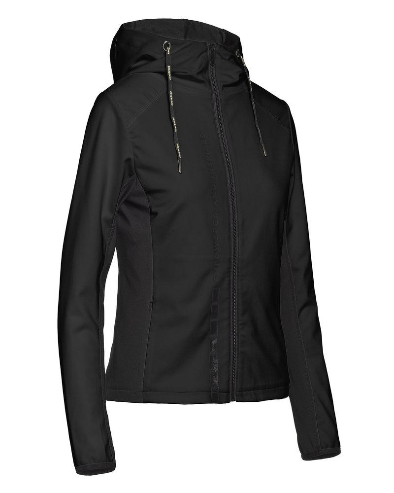 Goldbergh Goldbergh Jabet Hooded Jacket Knitted Black