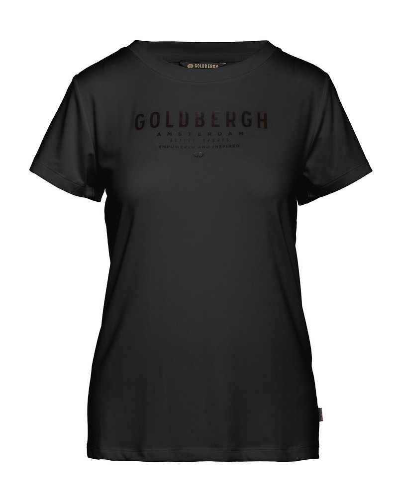 Goldbergh Goldbergh Daisy Short Sleeve Top Black