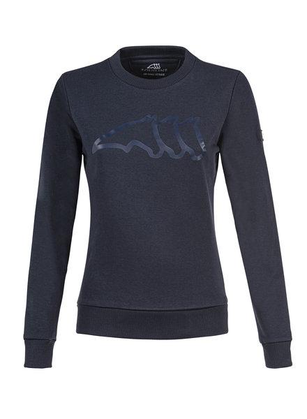 Equiline Womens Sweatshirt Carin Navy