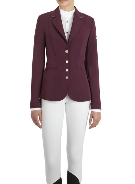 Equiline Women's Competition JKT Gwenty Plum