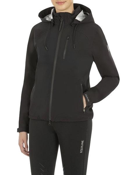 Equiline Women's Waterproof JKT Cate Black