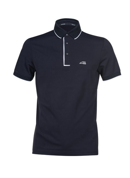 Equiline Men's Polo Ezra Navy