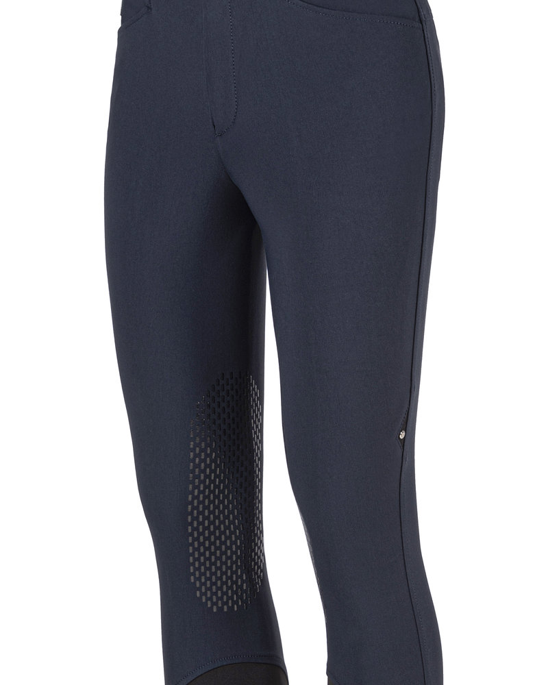 Equiline Equiline Men's Knee Grip Breeches Elroye Navy