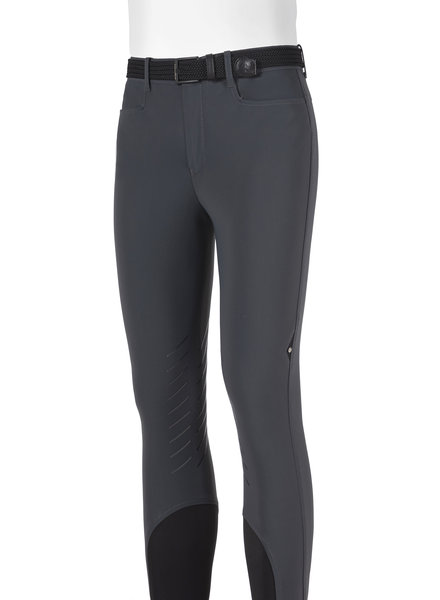 Equiline Men's Riding Breeches Night Gray