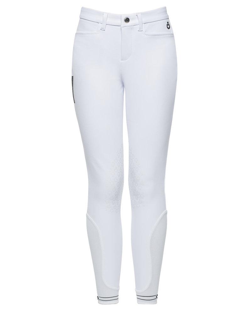 Cavalleria Toscana CT Piping Logo Grip Breeches White