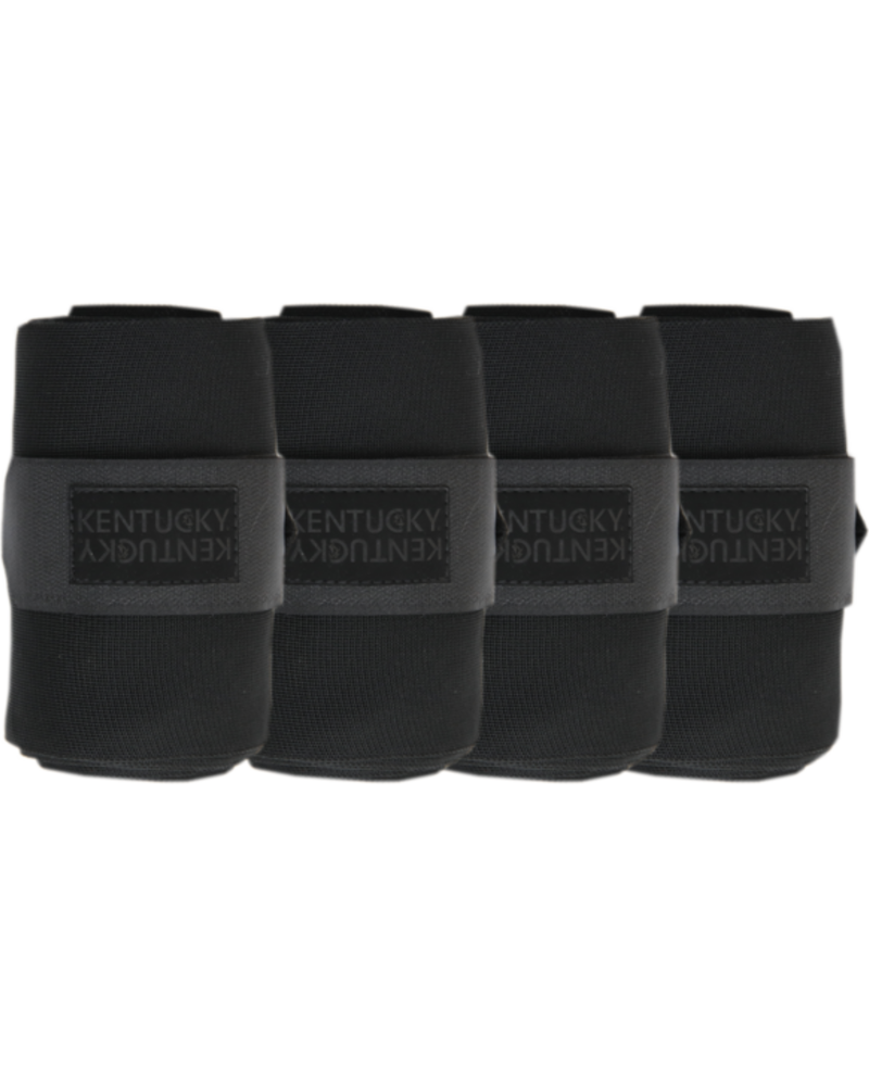 Kentucky Kentucky Repellent Stable Bandages Set of 4 Black