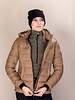 Cavalleria Toscana Cavalleria Toscana Shiny Matte Nylon Hooded Puffer 4100
