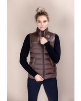 Cavalleria Toscana Shiny/Matte Nylon Puffer Vest 4800