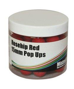 Rosehip red pop-ups 15mm