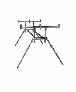 Compact Stainless Steel Rod Pod | 3 Rods