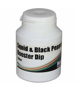 Squid en black pepper dip