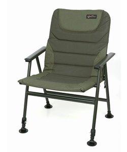 Warrior II compact arm chair