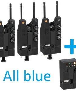Hi-T Beetmelder set | 3+1 | All Blue