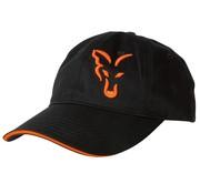 FOX Black/Orange Baseball Cap | Pet