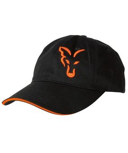Black/Orange Baseball Cap | Pet