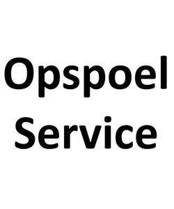 Gratis opspoel service