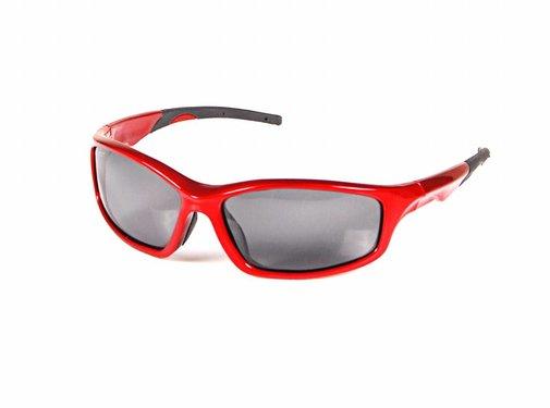 Effzett Polarized Sunglasses | Red and black | Polaroid zonnebril