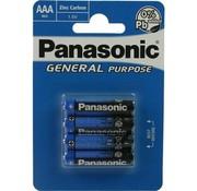 Panasonic AAA 1,5v batterijen | Micro | (4 stuks)