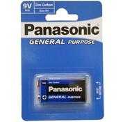 Panasonic 9 Volt Batterij ( 9V blok batterij)