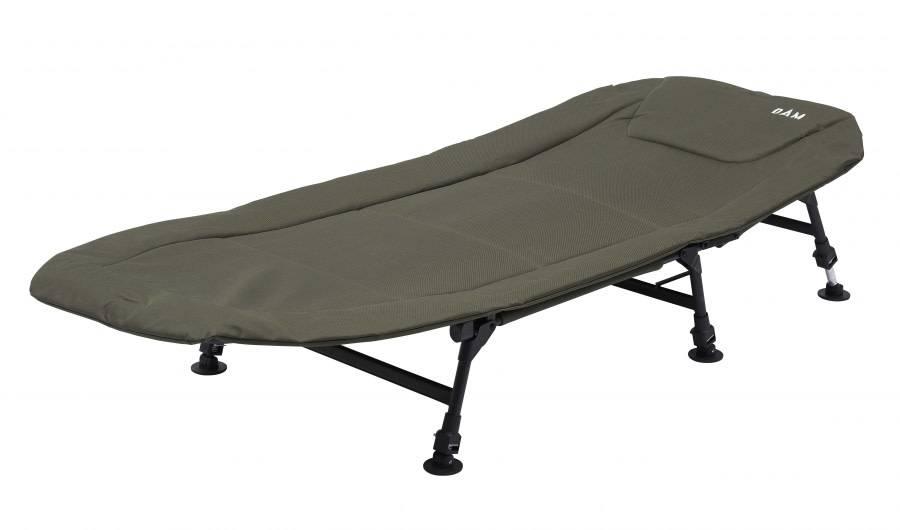 Afbeelding van DAM Eco flatbed bedchair 6 leg Steel Stretcher
