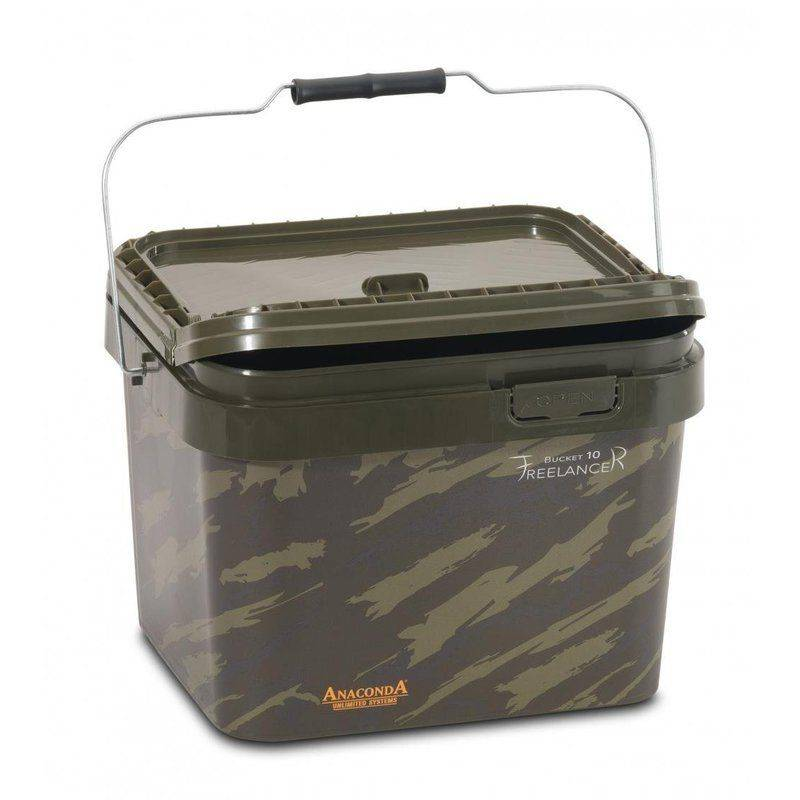 Afbeelding van Anaconda FreelanceR Camouflage emmer camo bucket 10ltr