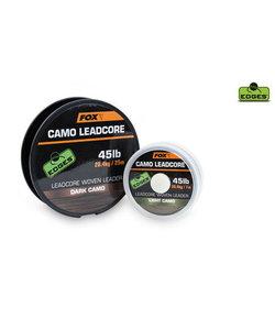 Camo Leadcore Woven Leader   45lb