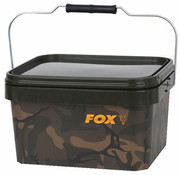 FOX Camo Square bucket | 10 liter | emmer