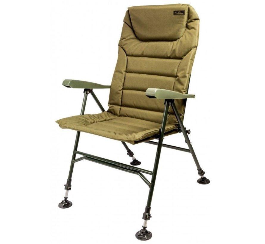 Treasure Chair w/ Armrests   Karperstoel