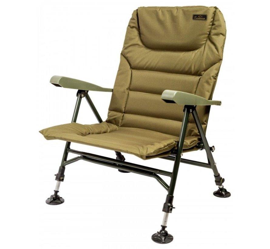 Treasure 'Low' Chair w/ Armrests   Karperstoel