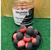 Solution Boilies Red Kriller Red 'n Black pop-ups | 15mm | 250ml