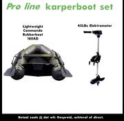 Pro Line Karperboot set met elektromotor
