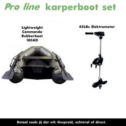 Karperboot set met elektromotor