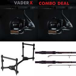 VaderX set-up | 2x hengel + 2x molen + Rodpod