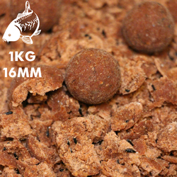 Red Kriller Boilies | 16MM | 1KG