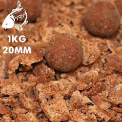 Red Kriller Boilies | 20MM | 1KG